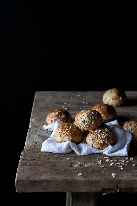 Havreboller med kokos og rosiner · 4
