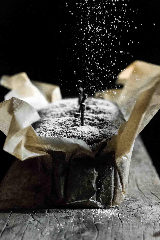 Krydret kage med friske pærer · 6
