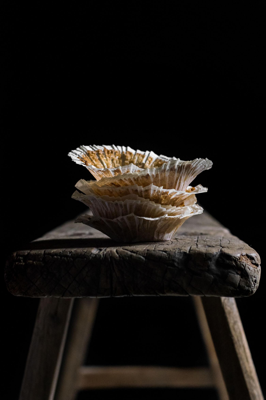 Muffins med æble og karamel · 6
