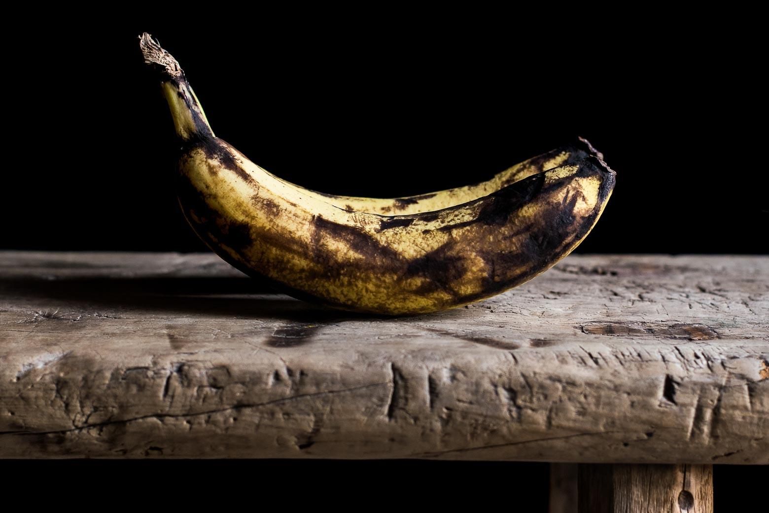 Banan, peanutbutter og bacon muffins · 1