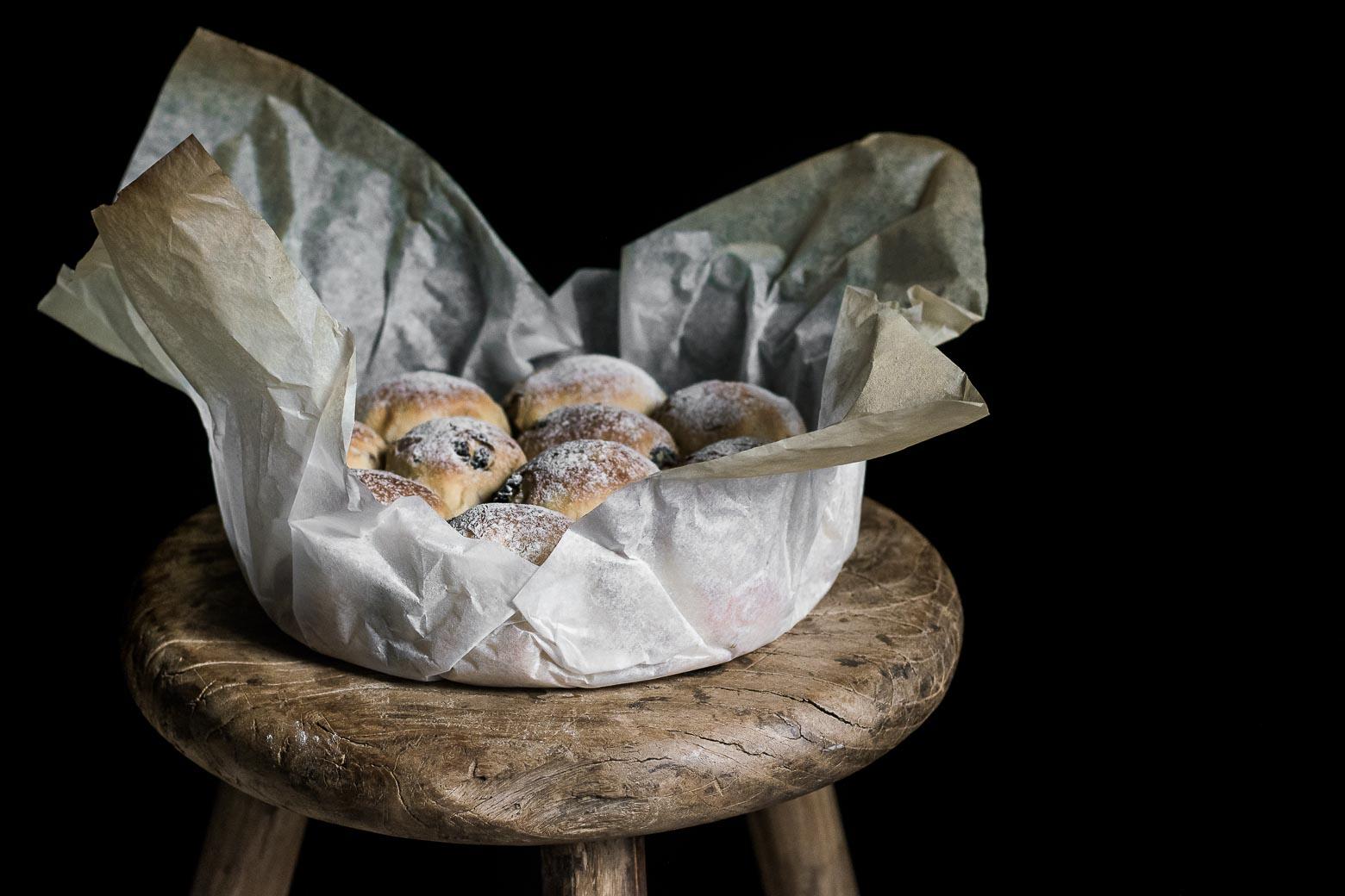 Tranebær- og mandelbrød · 1