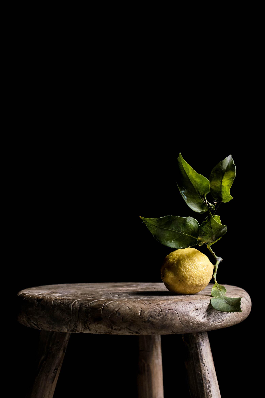 Citronkage med birkes · 1