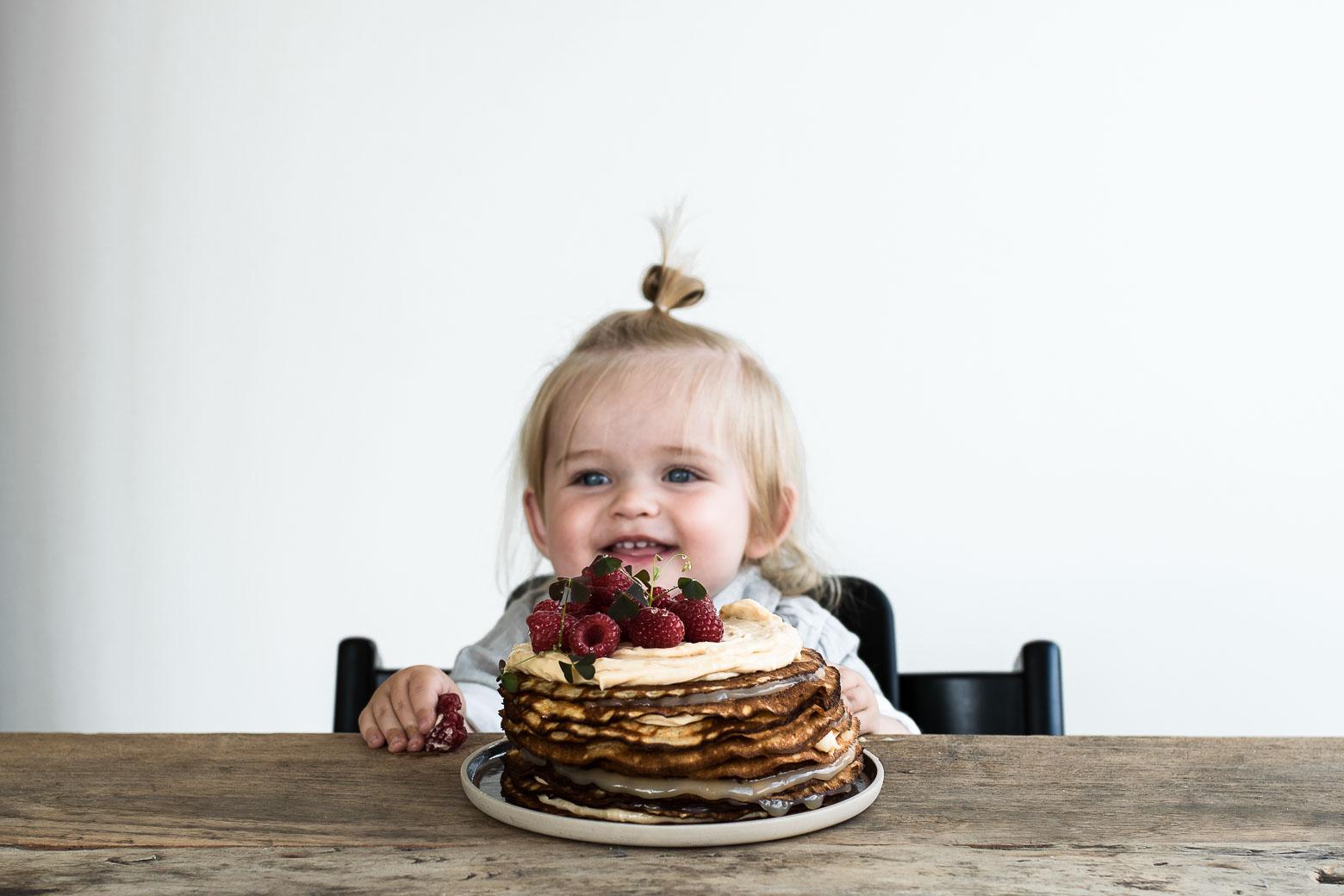Hurra for baby og pandekagekage · 10