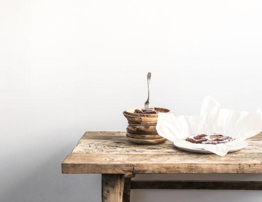 Balsamico brownie med vanilje og figner · 5