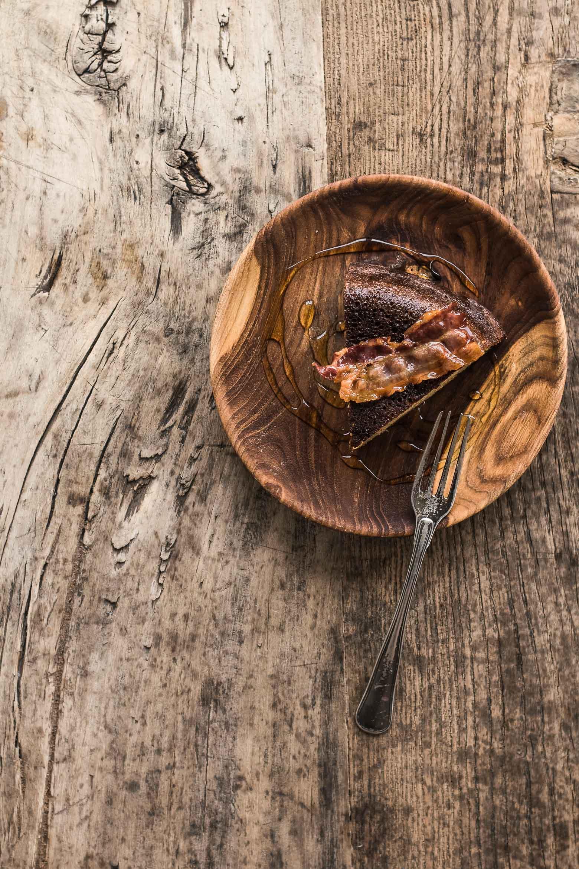 Sprød pandekage med bacon og honning · 6