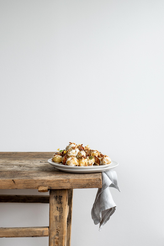 Kartoffelsalat med dijonnaise og bacon · 5