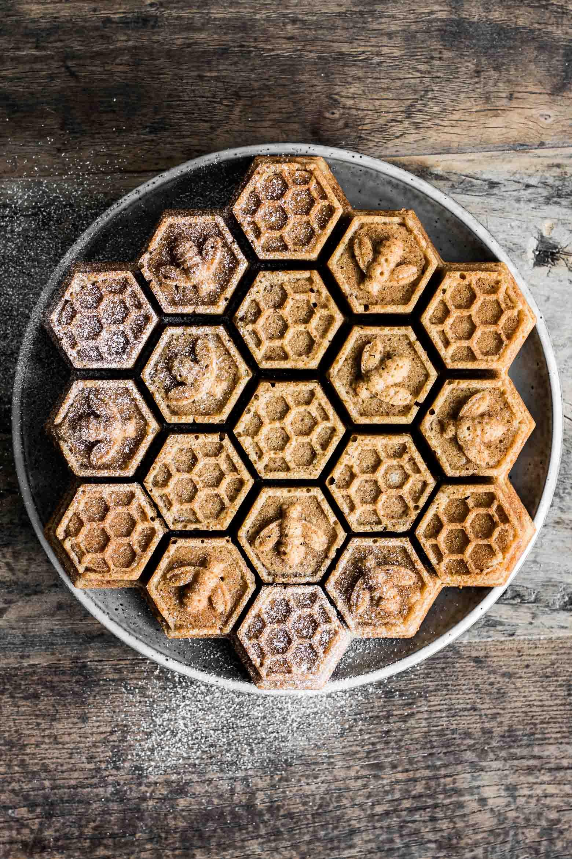 Honningkage med julekrydderier ·2
