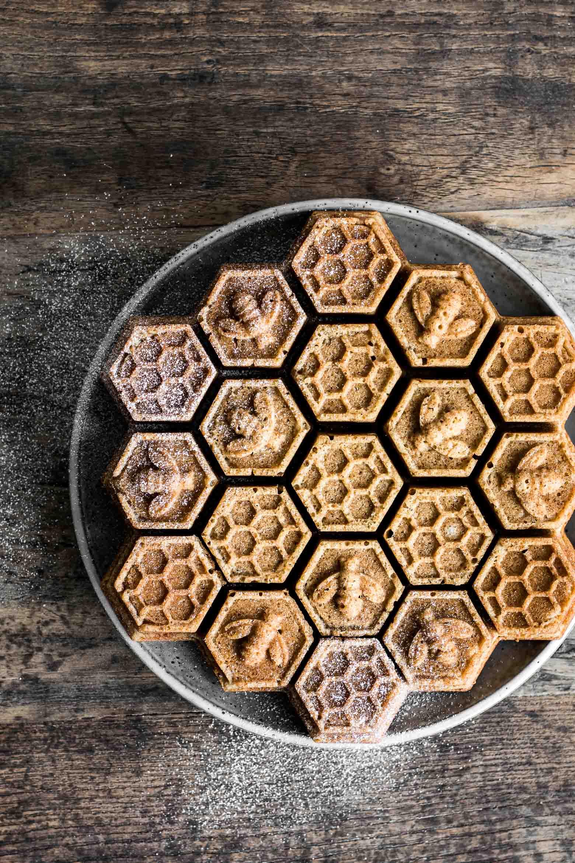 Honningkage med julekrydderier ·3